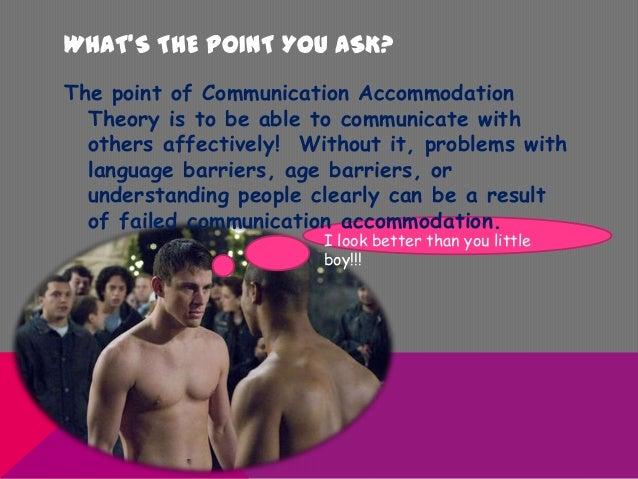 communication accommodation theory definition