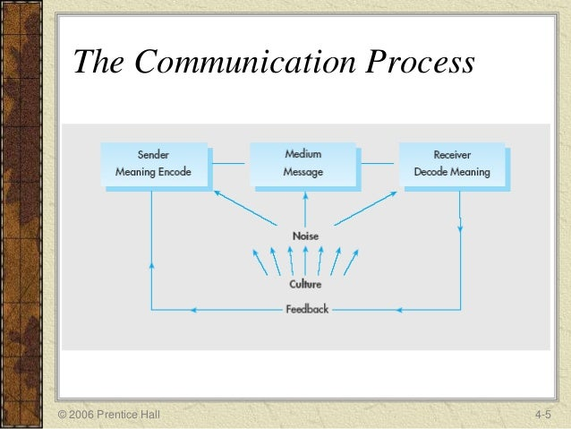 cultural noise in the communication process
