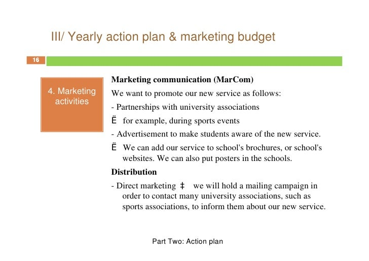 sports team business plan sample