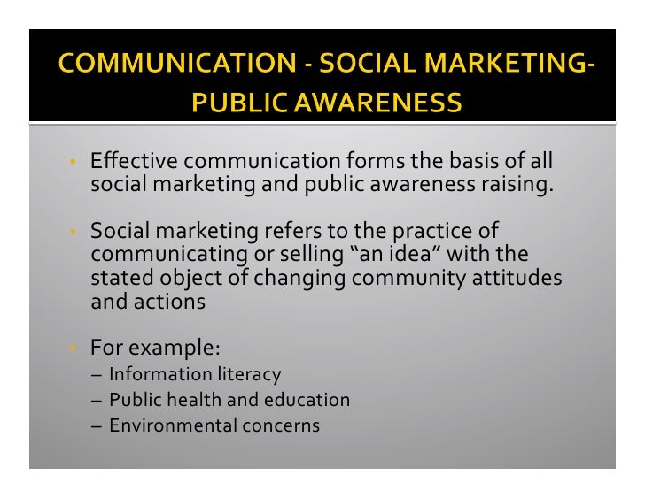 factors to consider when promoting effective communication