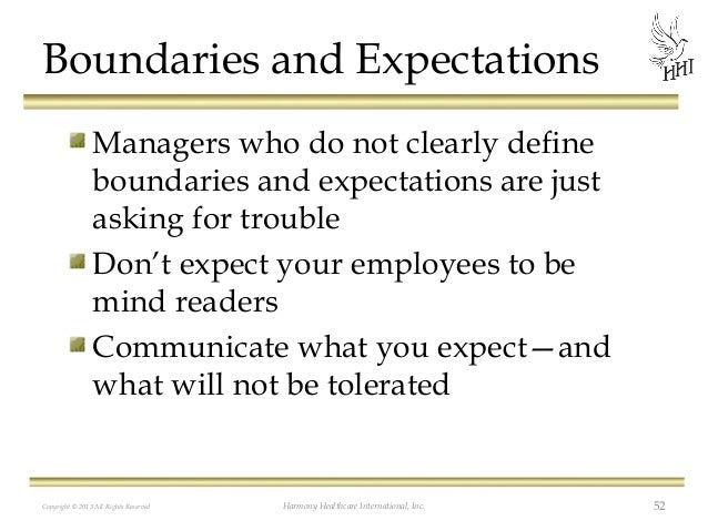 communication expectations Establishing leadership positions and a firm set of expectations for those who hold those positions is essential in running a successful small business, be it a brand new start-up or a.