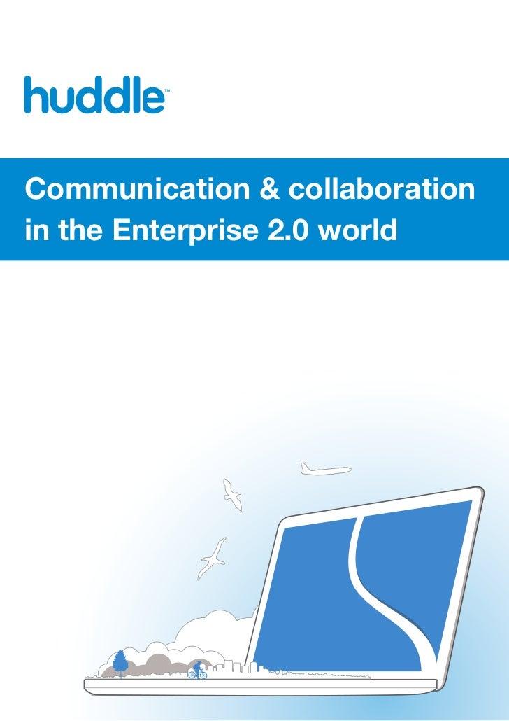 Communication & collaborationin the Enterprise 2.0 world