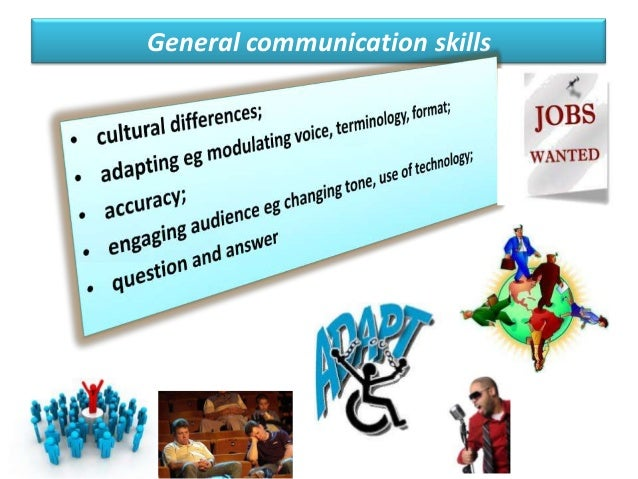 job application interpersonal and communication skills