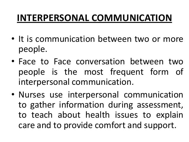 interpersonal communication dating Well, lets assume you read the last post about doing research and homework you know what other professionals are making in your field you know how your work.