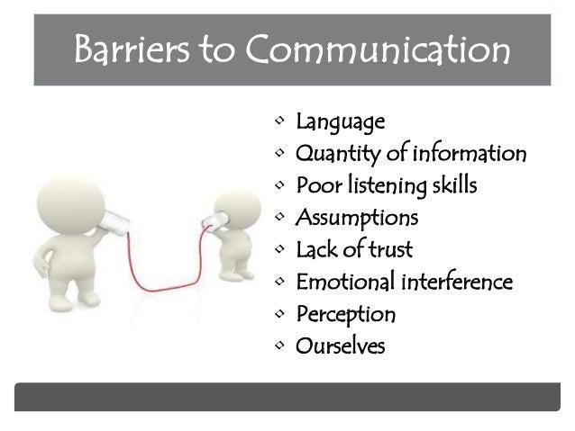 poor listening skills in communication