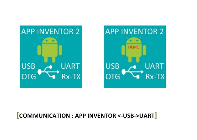 Communication appinventor arduino