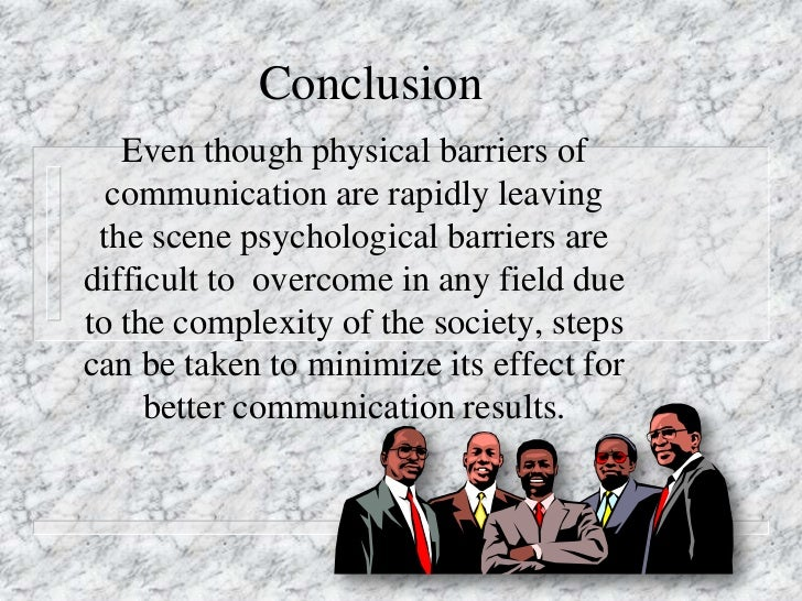 Communication Barriers...