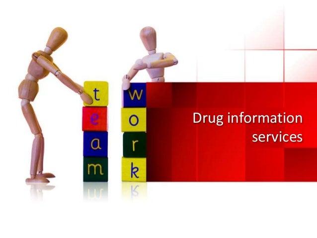 drug information services - Drug Information Pharmacist