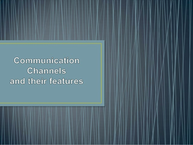 • In telecommunications and computer networking, a communication channel, or channel, refers either to a physical transmis...