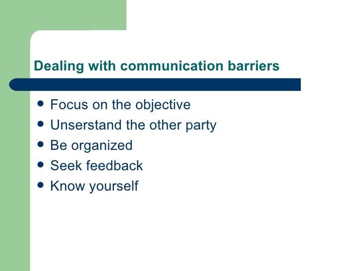 communication concepts