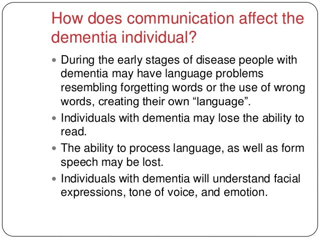 nutritional requirements of individuals with dementia essay Hsc level 3 understand and meet the nutritional requirements of individuals with individuals with dementia are more likely to have urinary read full essay.