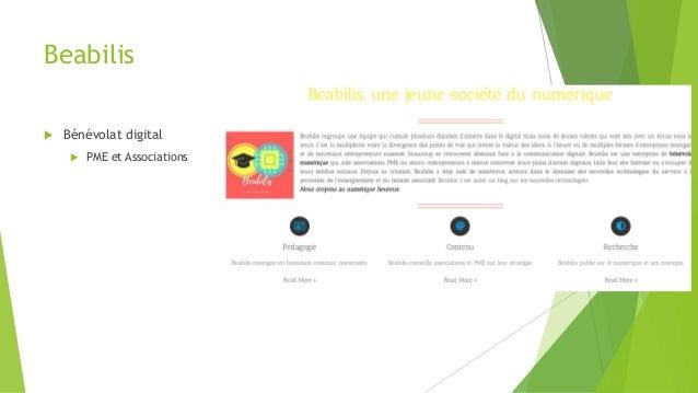 Beabilis  Bénévolat digital  PME et Associations