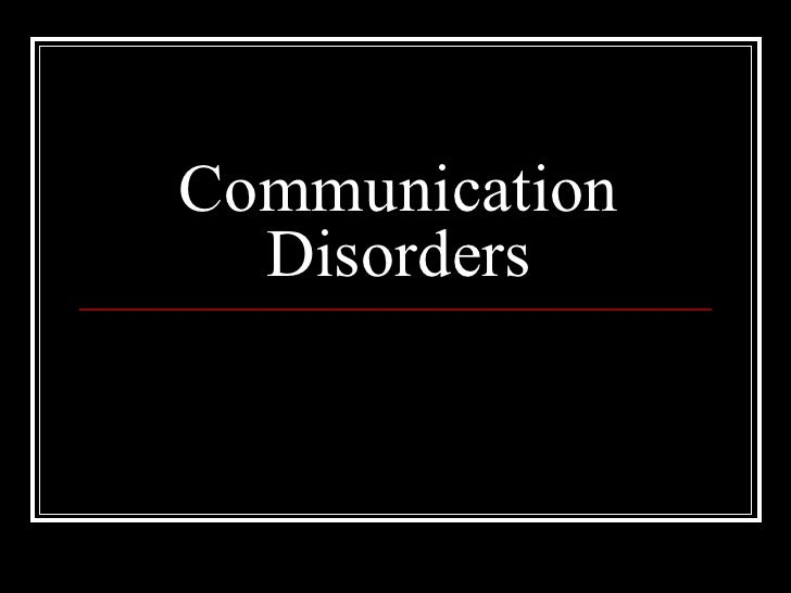 communication difficulties The person you're caring for may develop communication issues as a result of a  physical condition such as hearing difficulties or visual impairment, or as a.