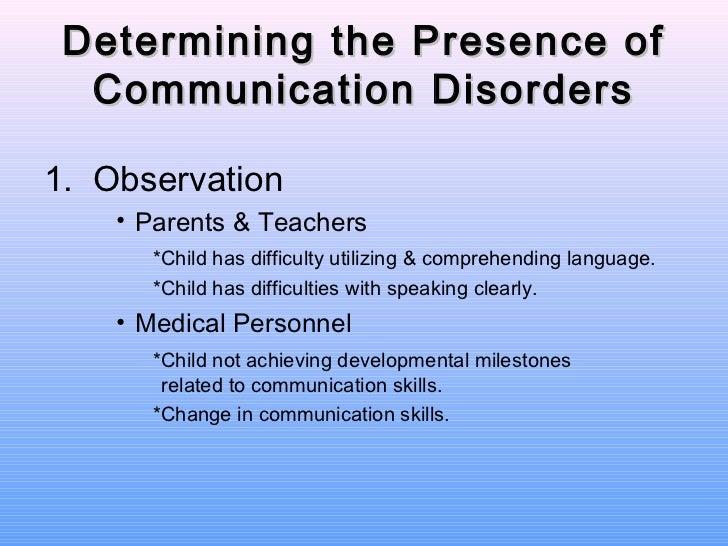 Expressive language disorder