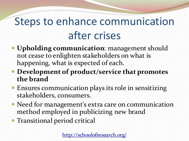 crisis management and communication in organizations essay Essay on crisis management  crisis communication essay what is crisis communication/management  needs to be updated and organizations no plans need to stop .