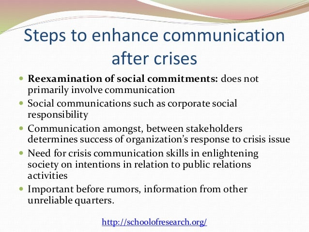 crises management as a critical organizational Providing information to an organization in a time of crisis is critical to effective crisis management crisis management as organizational dna.