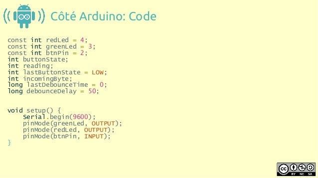 Communication entre android et arduino via bluetooth