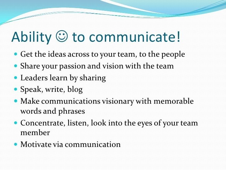 leadership teambuilding and communication Leadership, teambuilding, and communication charmaine roundtree  organizational behavior professor bob nolley november 29, 2014 the main  reason for.