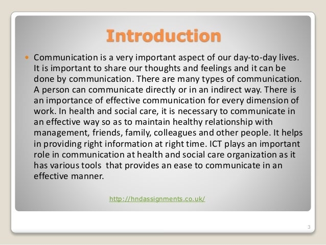 why is one to one communication important