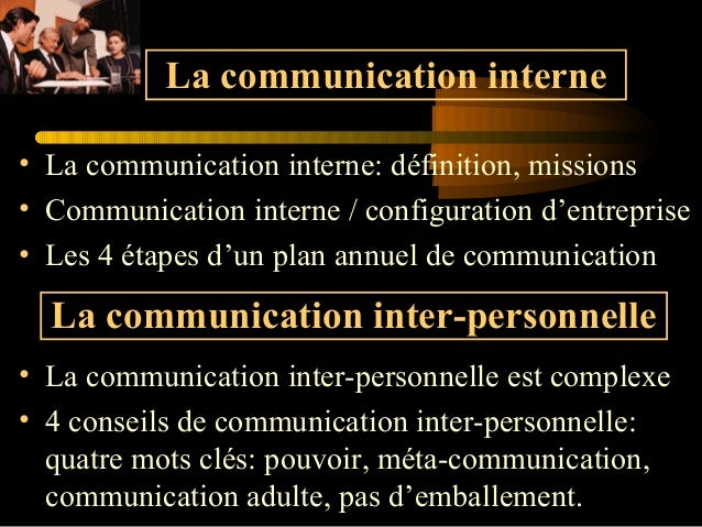 • La communication interne: définition, missions • Communication interne / configuration d'entreprise • Les 4 étapes d'un ...