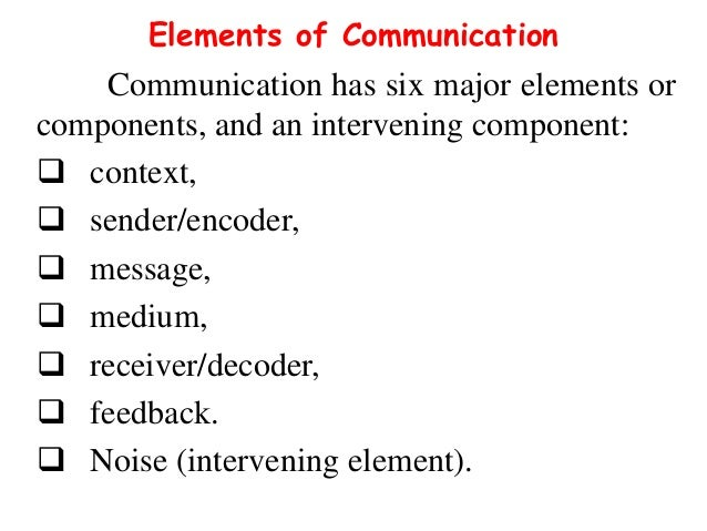 Important components of cross cultural communication