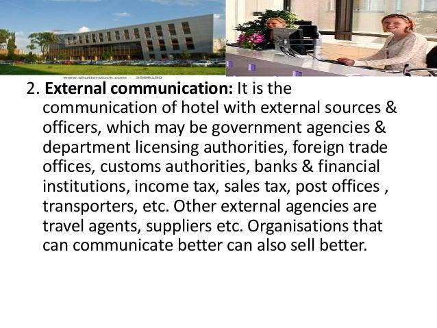 importance of external communication pdf