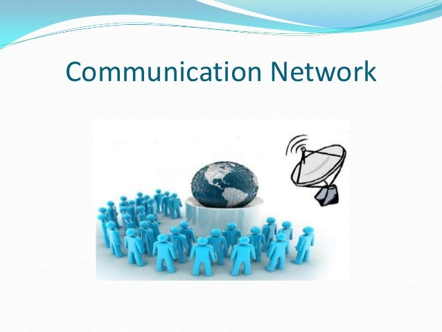 Communication network  ppt