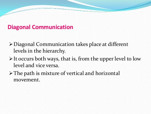 what are advantages and disadvantages of vertical hierarchy and vertical communication Communication can be characterized as vertical, horizontal, or diagonal   reports on issues of importance, top managers should then follow-up by   among persons who do not stand in hierarchical relation to one another.