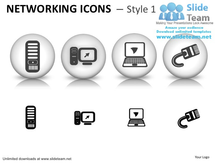 Communication networking icons ethernet jack clipart 1 instrument pow clipart 1 instrument power point slides and ppt diagram templates networking icons style 1unlimited downloads at slideteam your logo ccuart Image collections