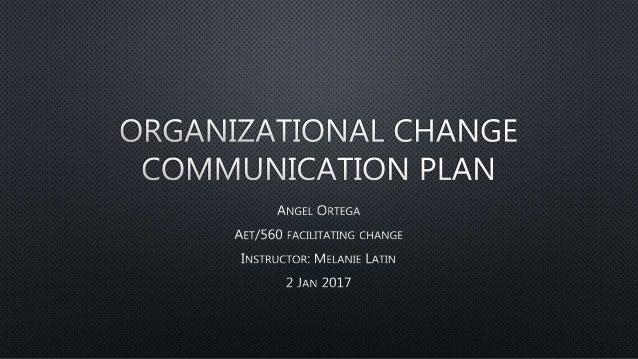 Organizational communications concepts proposal