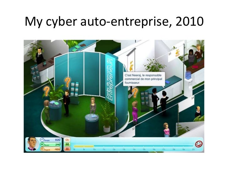 My cyber auto-entreprise, 2010<br />