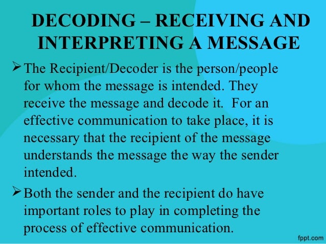 FEEDBACKFeedback is response from the receiver. Without it, you  cant be sure that people have understood your message.Fee...