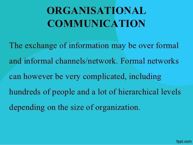 ORGANISATIONALCOMMUNICATION