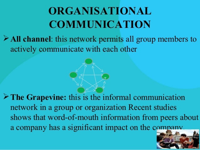 impact of effective communication on organisational Effective communication is what keeps internal processes running smoothly and helps to create positive relations with people both inside and outside the organization successful communication is a two-way street, allowing for exchange of ideas.