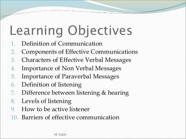 Communication presentation e. Slide 2