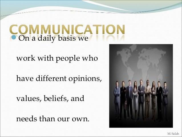 Communication presentation e. Slide 3