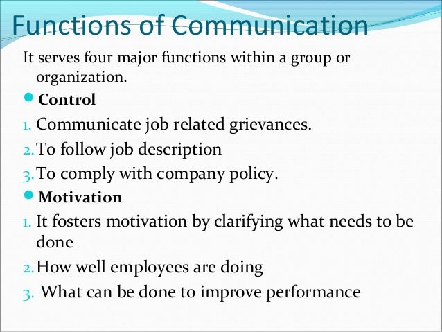 main function of business communication What are the functions of a communication satellite  but they still serve essential functions, primarily for business and entertainment purposes communication .