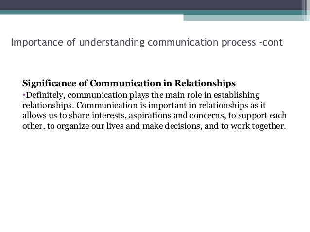 Essay on why communication is important