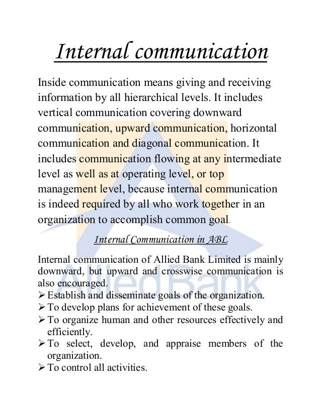 16 Means Of Internal Communication