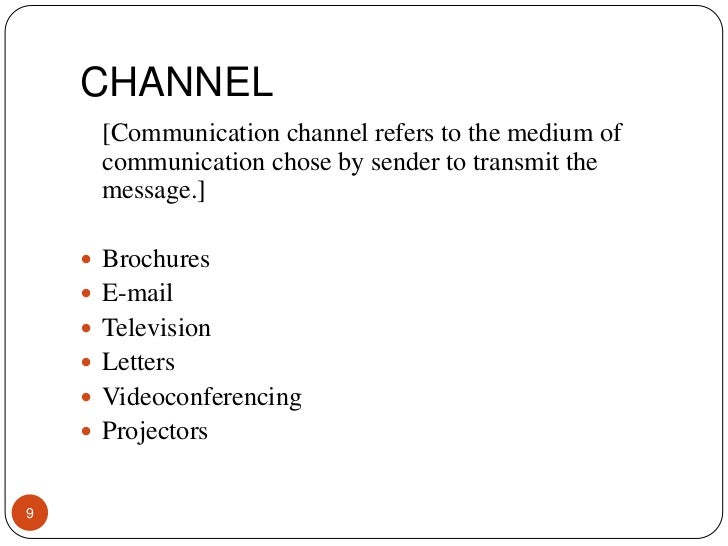 communication channels essay Read this essay on communication channels come browse our large digital warehouse of free sample essays get the knowledge you need in order to pass your classes and more.