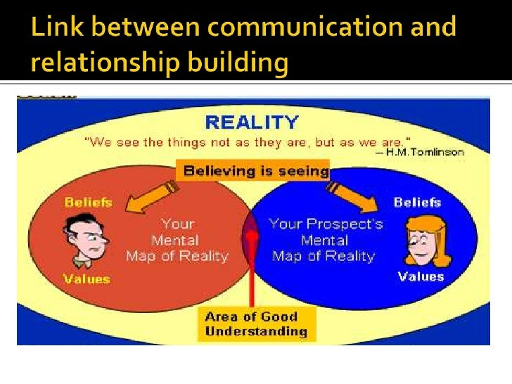 communication and relationship building essay Principles of relationship building with children essay sample there are various factors which contribute to the development of positive relationships with others the principles of relationship building can be broadly divided into several categories, the key ingredient being the need for effective communication.