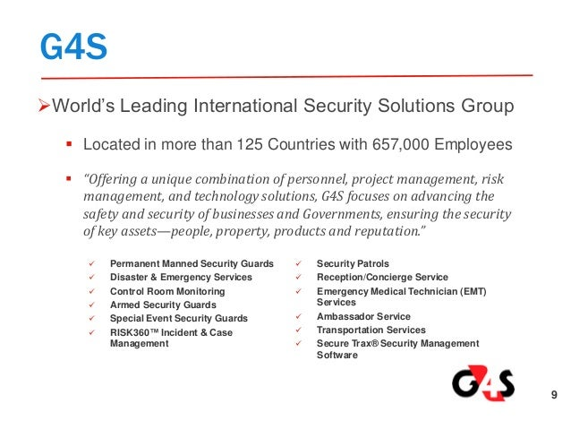 g4s secure solutions usa