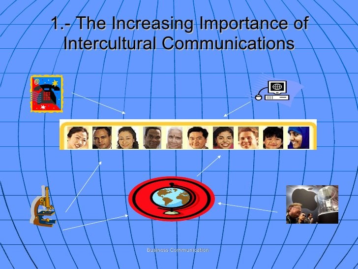 1.- The Increasing Importance of Intercultural Communications Business Communication