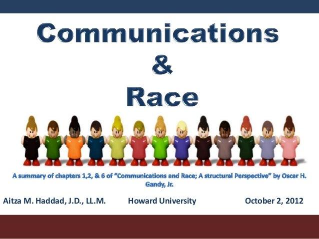 Aitza M. Haddad, J.D., LL.M.   Howard University   October 2, 2012