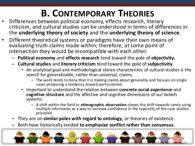 • Shift from behavioral science to cultural studies  emergence of an  information-processing paradigm.   – Shift within t...