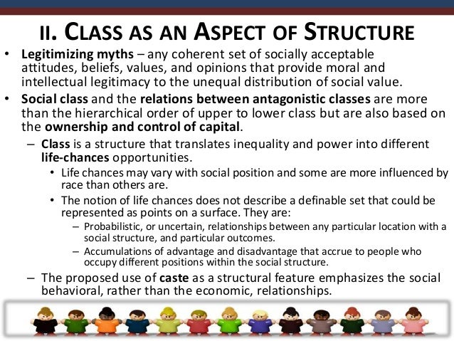 III. SOCIAL STRUCTURE & DETERMINATION• Social structure has a material force that produces what is  implicated in determin...