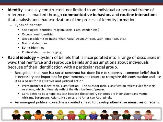 •   Racial discrimination and prejudice – component of racial ideology that emerged as a    product of differential social...