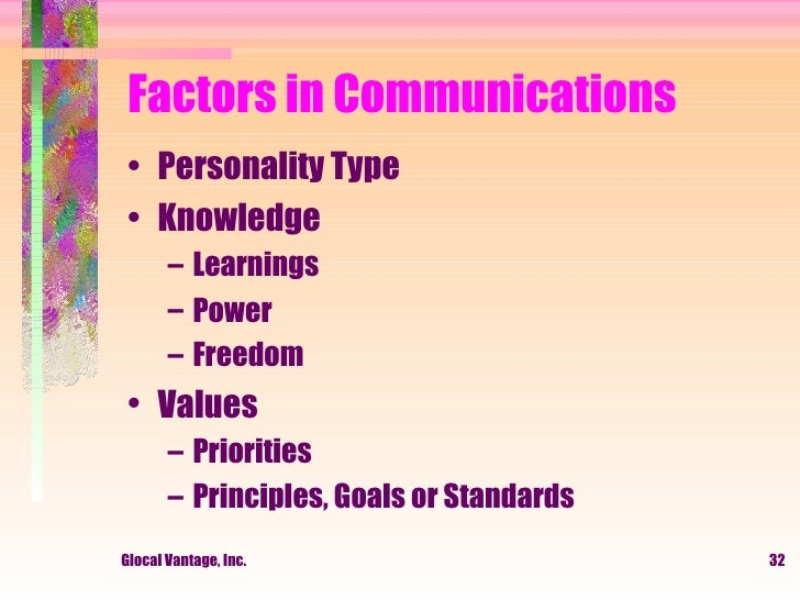 individual factors in communication barriers 4 different types of barriers to effective communication  psychological or emotional barriers the importance of communication depends on the mental condition of .