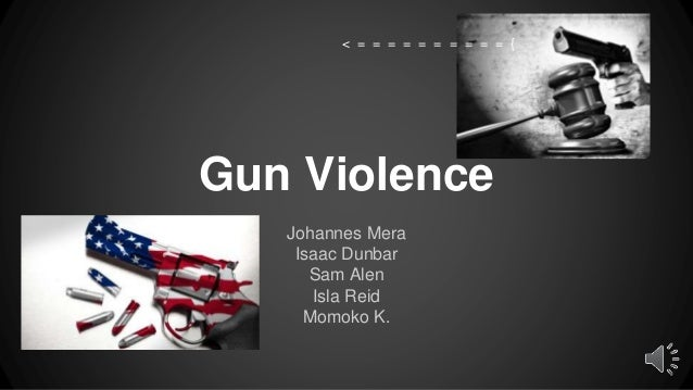 a discussion of the issue of violence in america National rates of gun homicide and other violent gun crimes are strikingly  the  issue of firearm violence, most americans are unaware that gun crime  and the  methodology appendix for more discussion about data sources.
