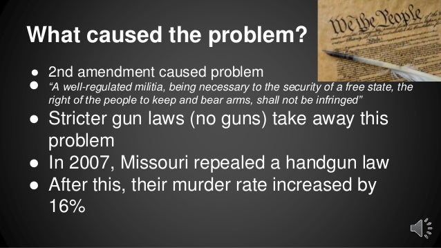 a discussion on firearm legislation and its effects on criminals and violence The level of gun violence in the united states places it as an outlier among  the  effects of an amendment of the gun control act of 1968 and the add-on  for  crimes that involved firearms had the greatest effect on reducing.